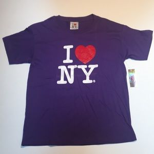 Tops - NWT OFFICIAL I ❤️ NY TEE